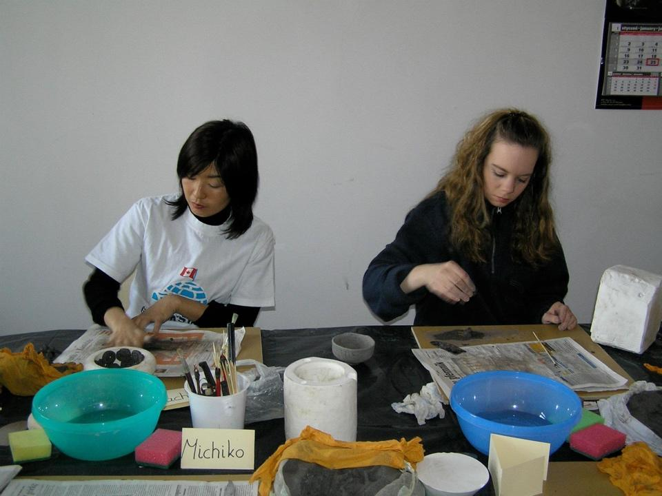 Ceramic Course organized for International Friend of Wroclaw